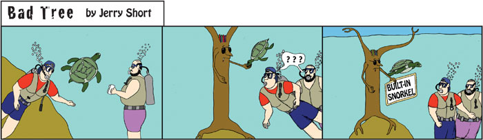 Bad Tree Comic - Scuba