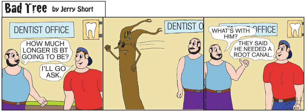Bad Tree Comic - The Dentist