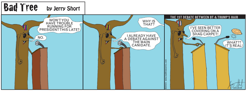 Bad Tree Comic - The Debate