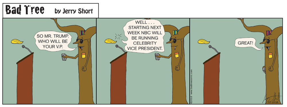 Bad Tree Comic - Vice President