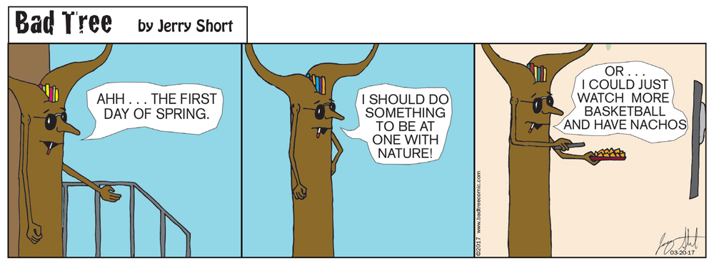 Bad Tree Comic -The Great Outdoors