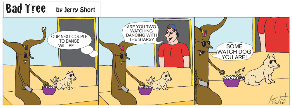 Bad Tree Comic - Dancing