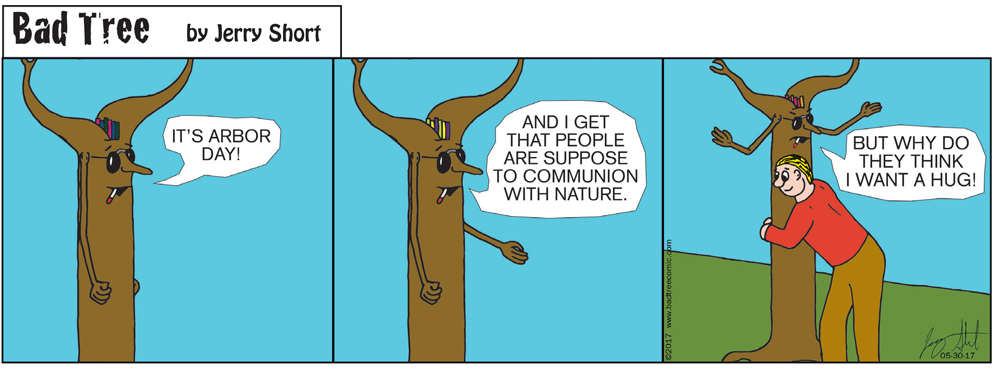 Bad Tree Comic - Hugger