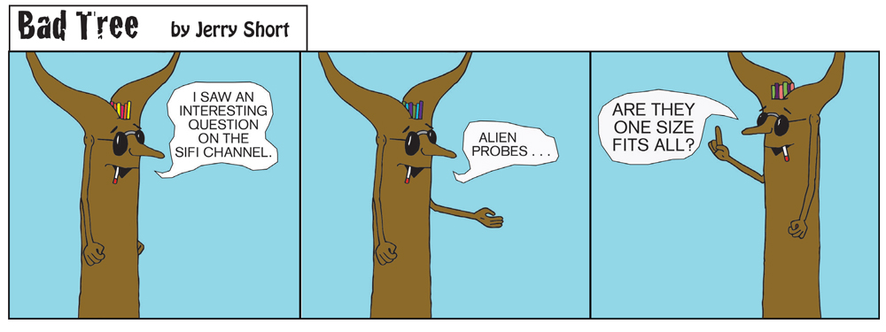 Bad Tree Comic - One Size