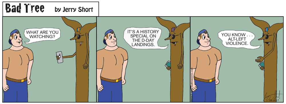 Bad Tree Comic - Alt Left