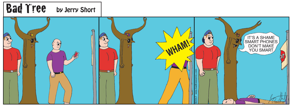 Bad Tree Comic - Smart Phones