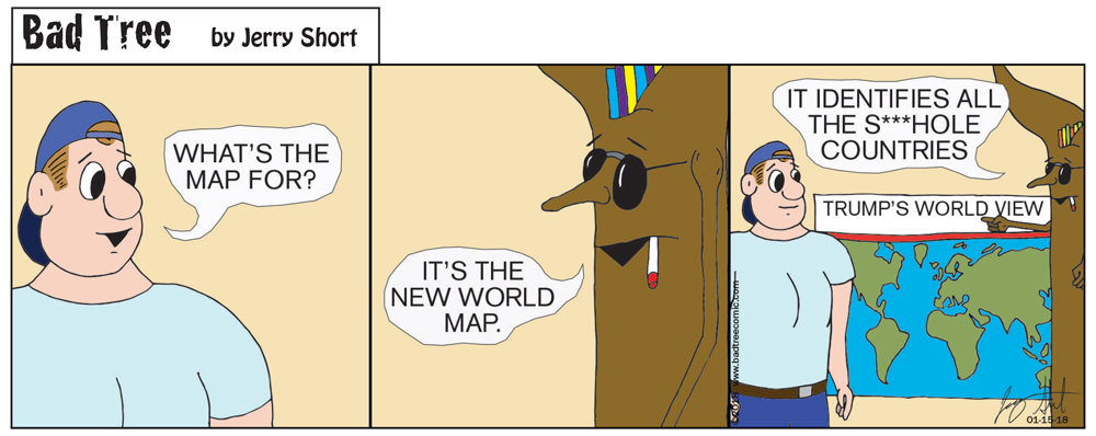 Bad Tree Comic - World View