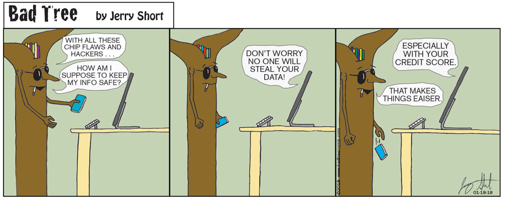 Bad Tree Comic - Credit Score
