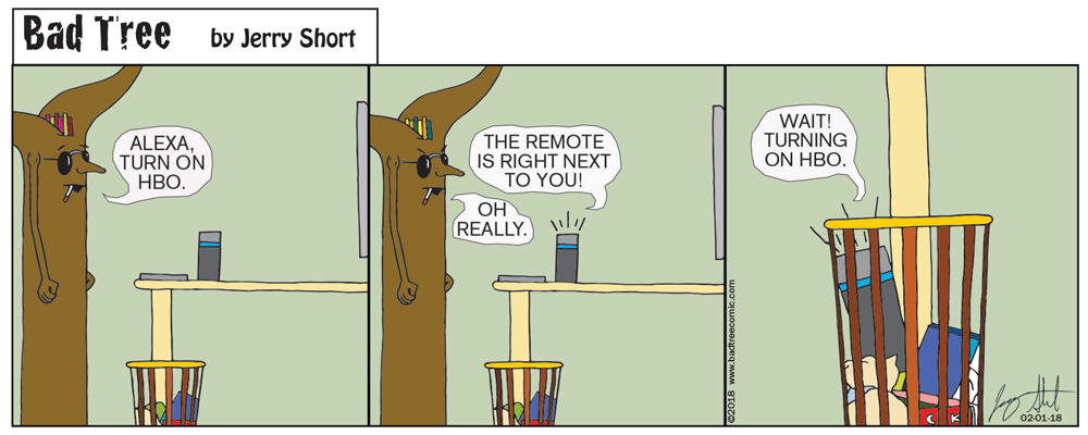 Bad Tree Comic - Alexa Day Three
