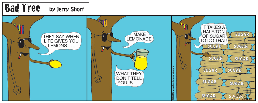 Bad Tree Comic - Lemonade