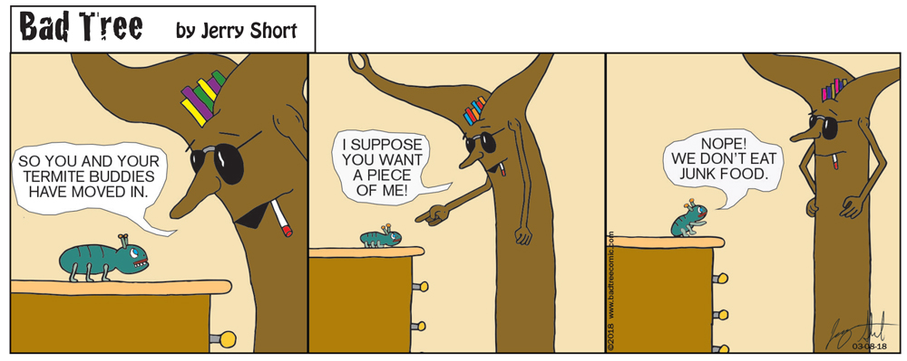 Bad Tree Comic - Termites
