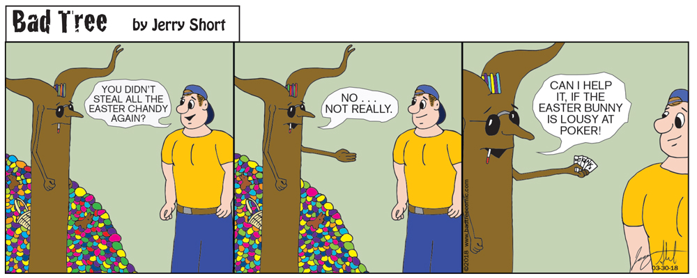 Bad Tree Comic - Easter 2018