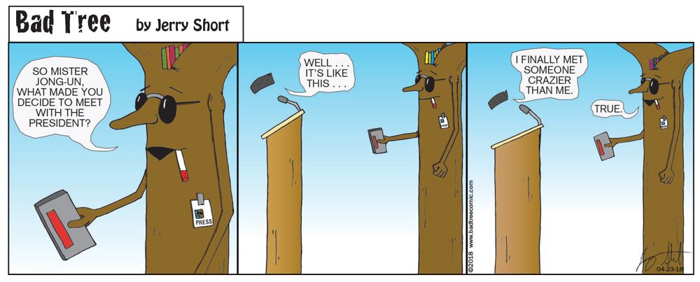Bad Tree Comic - Meetings