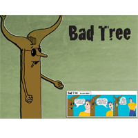Bad Tree Background 2